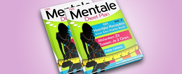Recepten van het mentale dieetplan